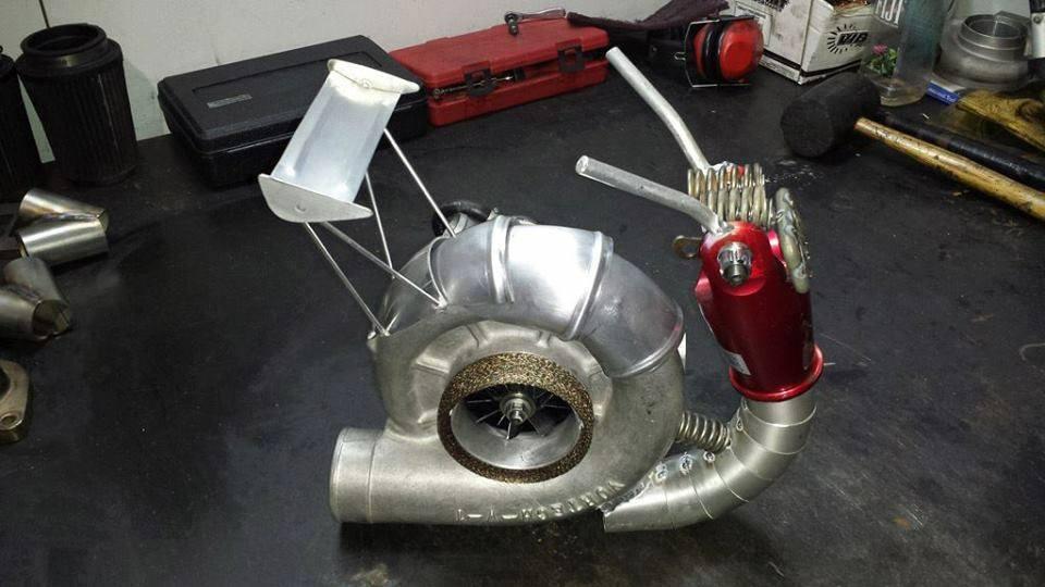 Из чего можно сделать турбину своими руками 125