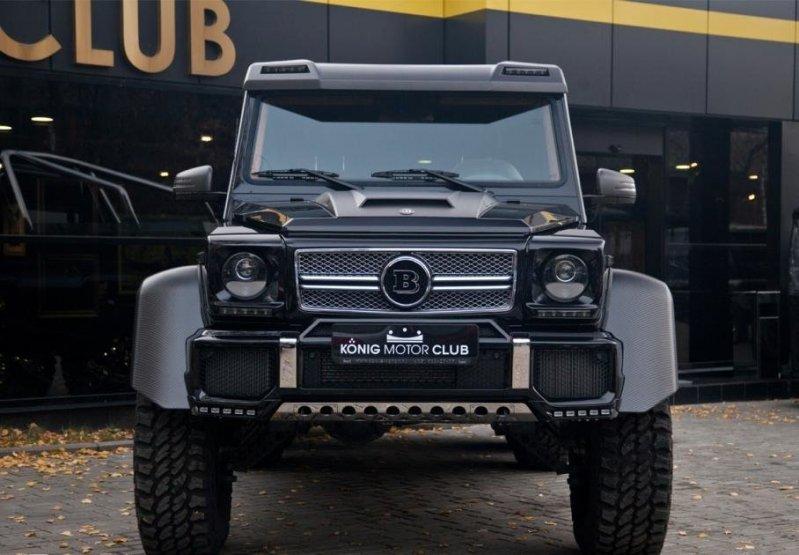 Второй автомобиль, опять же версии Brabus 700 находится в Москве и продается на данный момент. 6x6, amg, g63, gelandewagen, mercedes-benz
