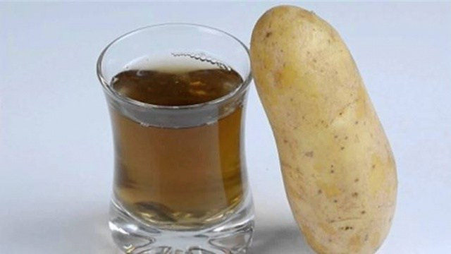 Полезные свойства сока картофеля