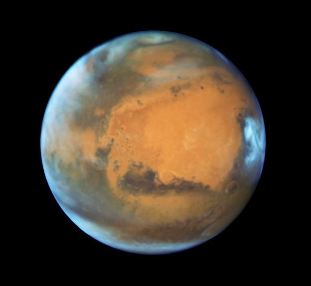 30 мая Марс максимально сблизится с Землёй