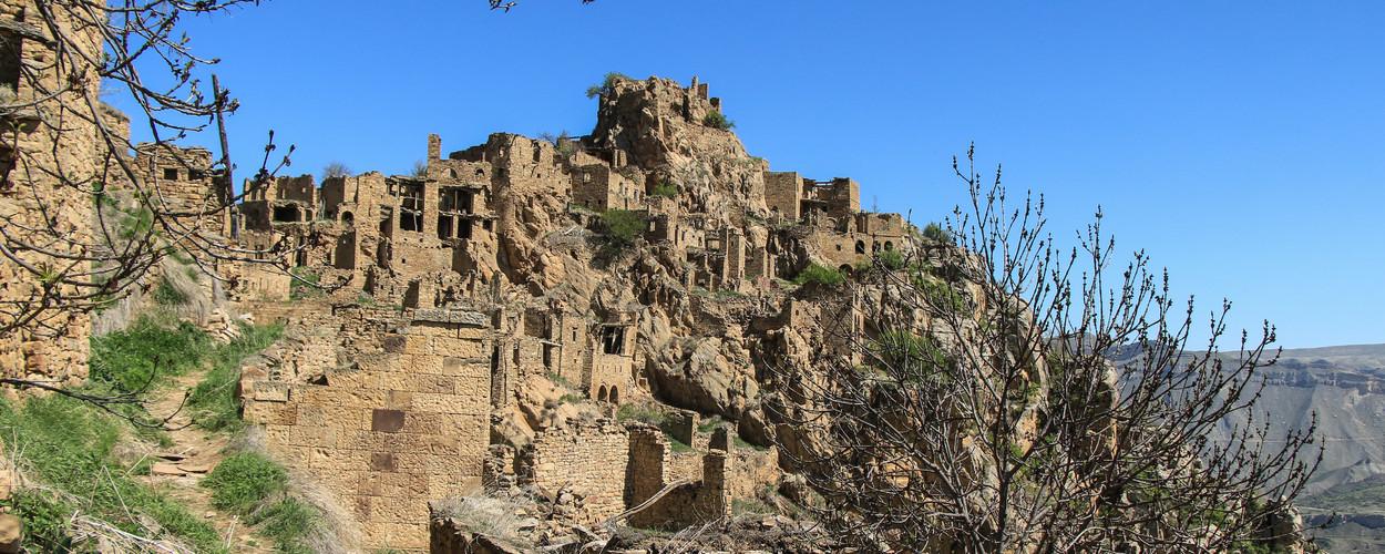 Нагорный Дагестан. Гамсутль-город-крепость, город-призрак...