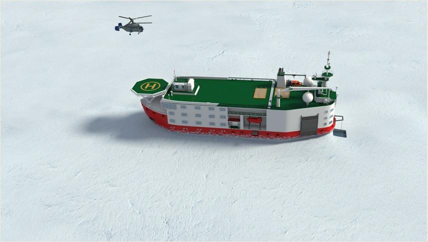 «Адмиралтейские верфи» построят ледостойкую самодвижущуюся платформу «Северный полюс»