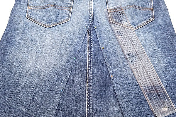 Как сшить юбку из джинсов: 5 мастер-классов разной сложности