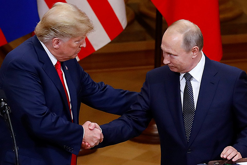 Трамп больше доверяет Путину, чем своим спецслужбам