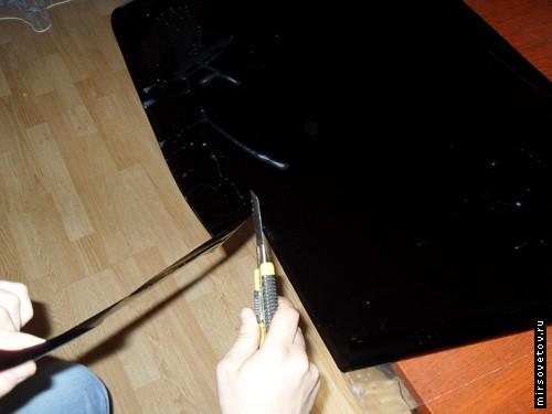 Как правильно сделать съемную тонировку своими руками