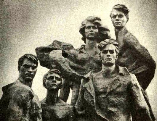 Молодогвардейцы - кто они и что они сделали? Страшная история (фото)