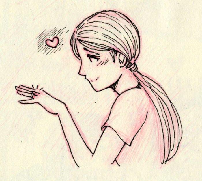 Обещание Любовь, история, комикс, любовь на расстоянии, рисунки, романтика, творчество, художник