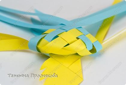 Мастер-класс Поделка изделие Плетение Плетёные птички Бумага фото 18