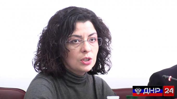 Заместитель Парубия призвала обнести Донбасс стенами
