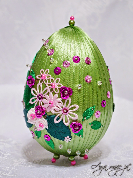 Пасхальный сувенир яйца своими руками