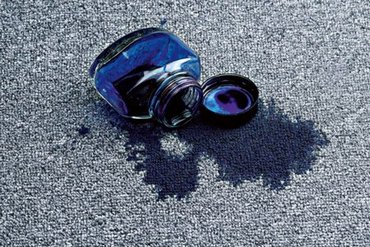 пятна на ковролине почистить