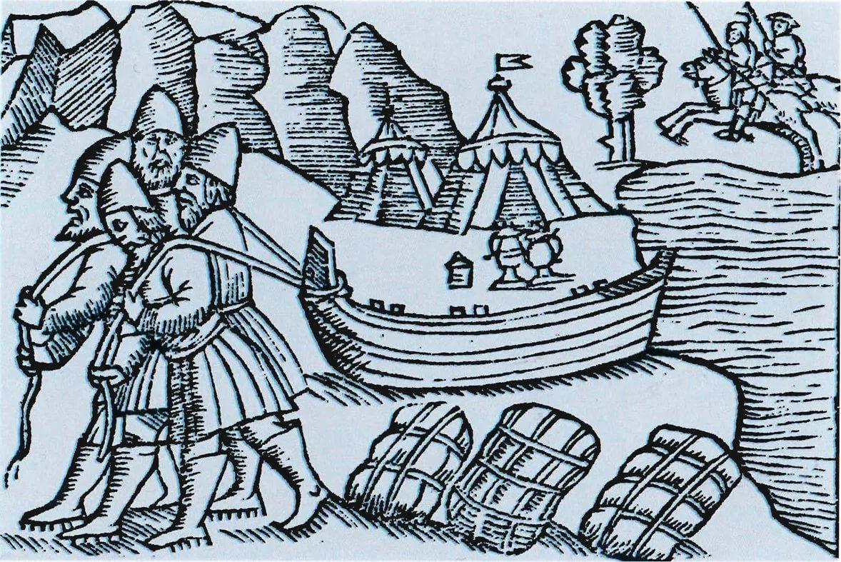 Торговля и разбойники стародавней Рязани.