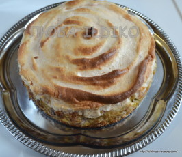 Необычный торт из блинов по-венгерски