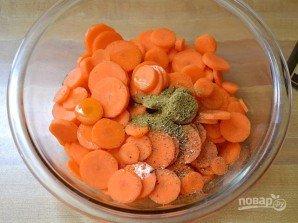 """Салат с морковью и сыром """"Фета"""" - фото шаг 2"""
