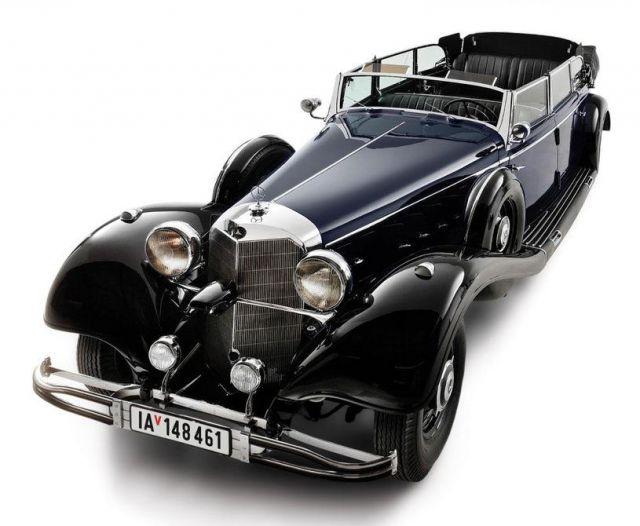 Парадный Mercedes Гитлера уйдет с молотка