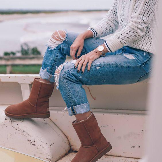 Самые модные угги зимы: 15 стильных вариантов
