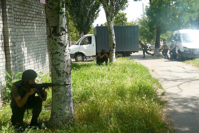 ВСУ в Донбассе пошли на прорыв