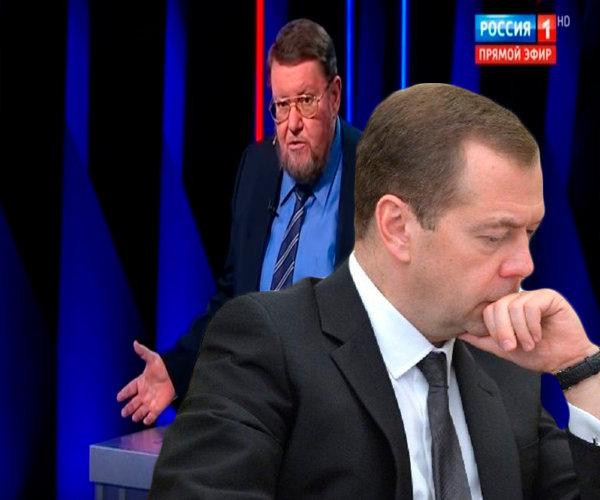 Сатановский: правительство Медведева не способно искоренить коррупцию и привести страну к процветанию