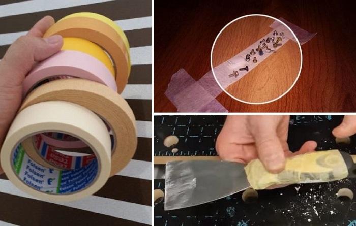 Неожиданные способы применения малярной ленты во время ремонта