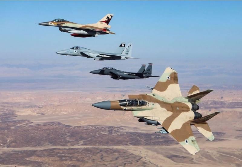 Сирийский эксперт: ВВС Израиля применят новую тактику