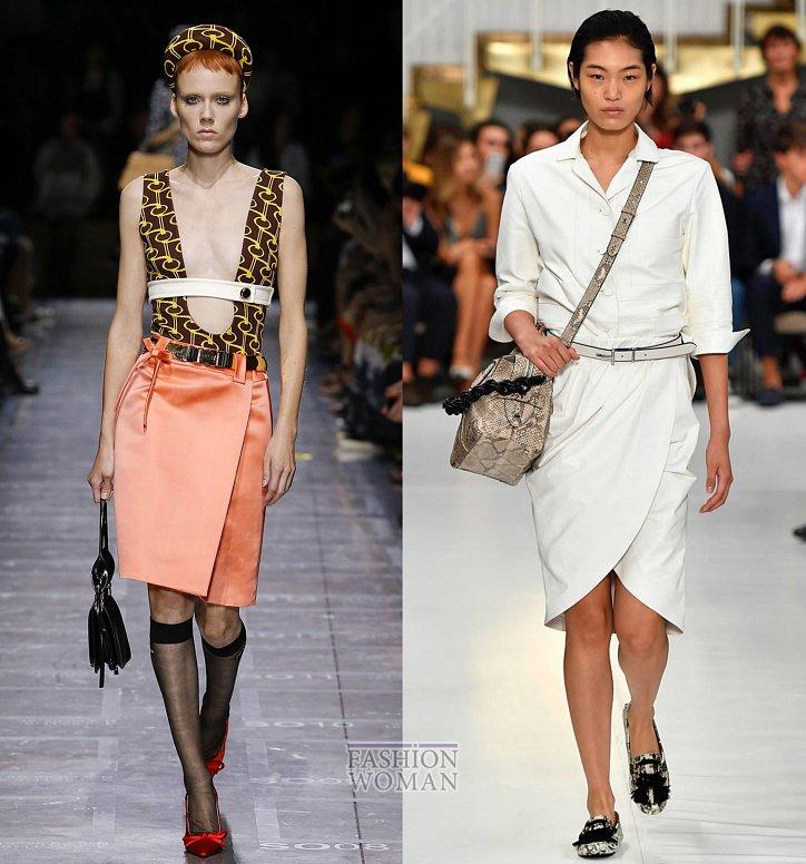 Модные юбки весна-лето 2019 фото №19