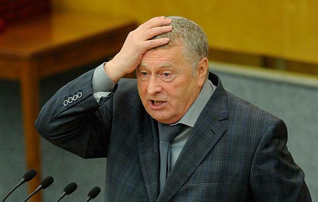 Жириновский хочет помериться…