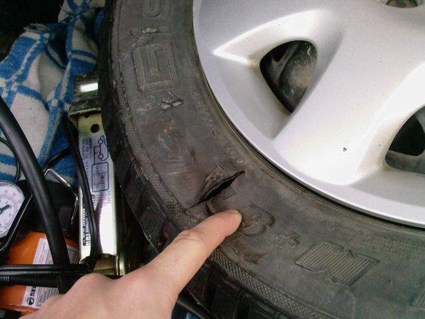 Боковые порезы на авто убрать