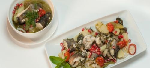 Хашлама из рыбы — рецепт.
