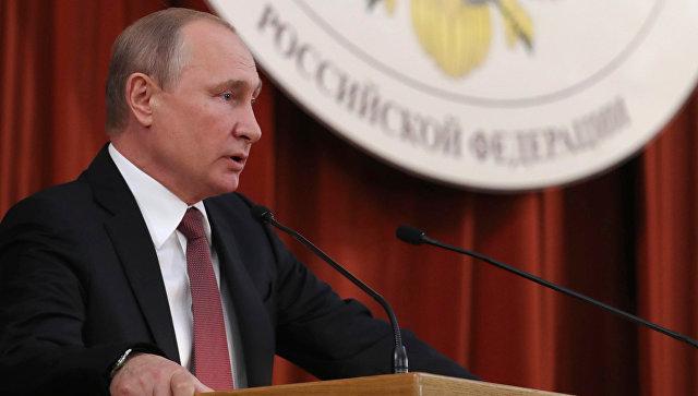 Путин рассказал о российских…