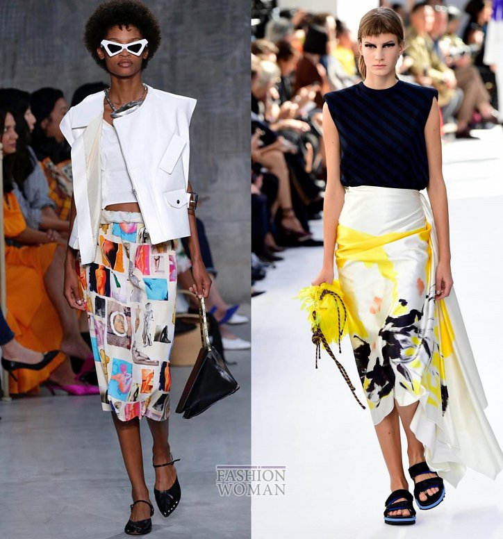 Модные юбки весна-лето 2019 фото №50