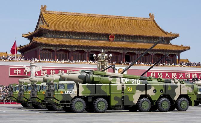 """Суперракета Китая: """"Гарри Трумэн"""" пойдет на дно гарантированно"""