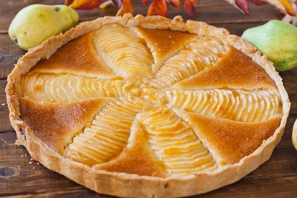 Пирог из творога с карамельн…