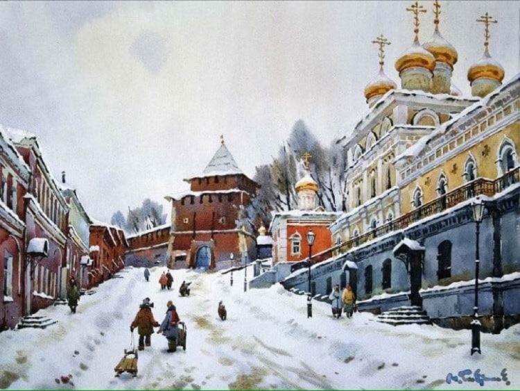 художник Модест Гаврилов (Modest Gavrilov) картины – 01