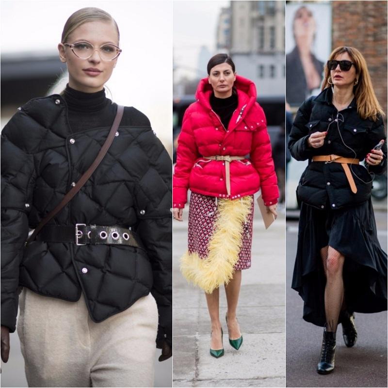 Долой шубы Все модные дамы уже давно перешли на пуховики: 15 стильных образов новые фото