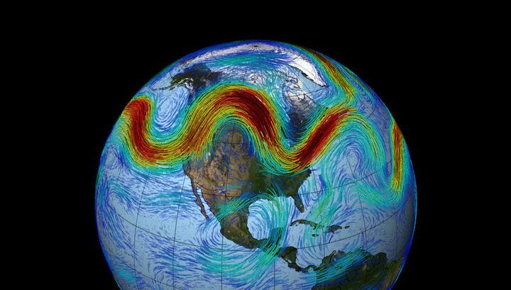 Ответственность за аномальные погодные явления возложили на воздушные «пробки»