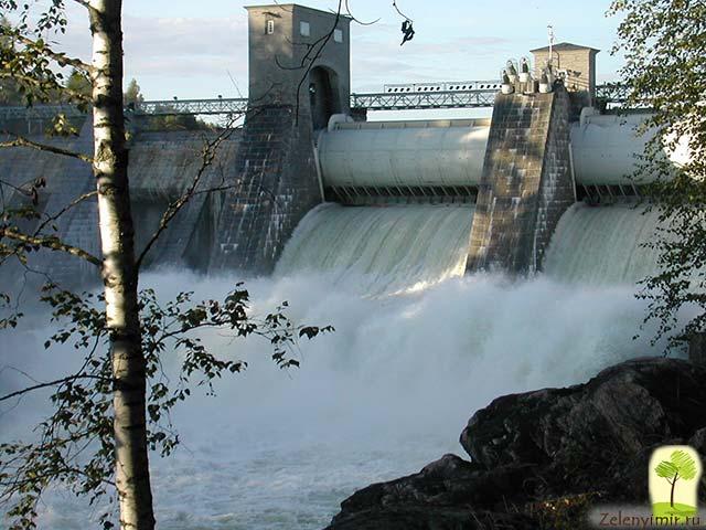 Завораживающий водопад Иматранкоски на плотине в Иматре, Финляндия - 5
