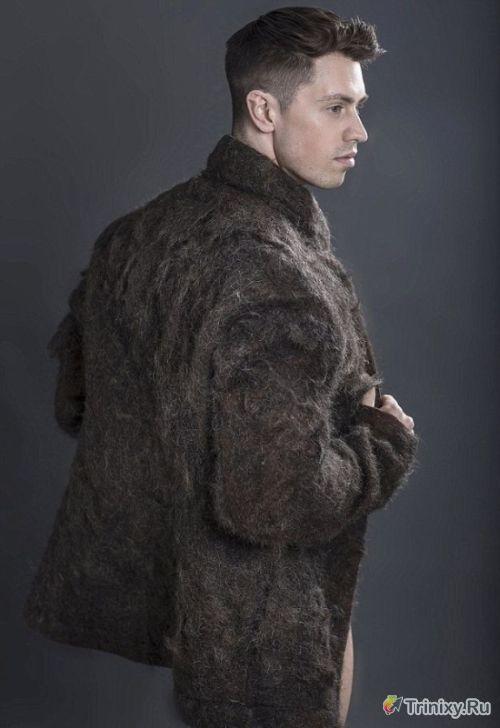 Креативное дизайнерское пальто
