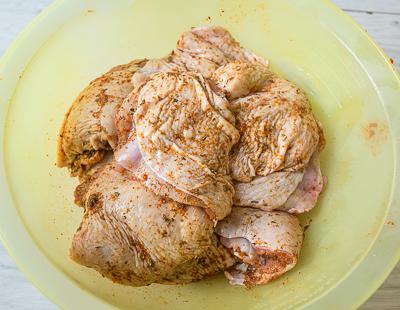 Маринуем курицу