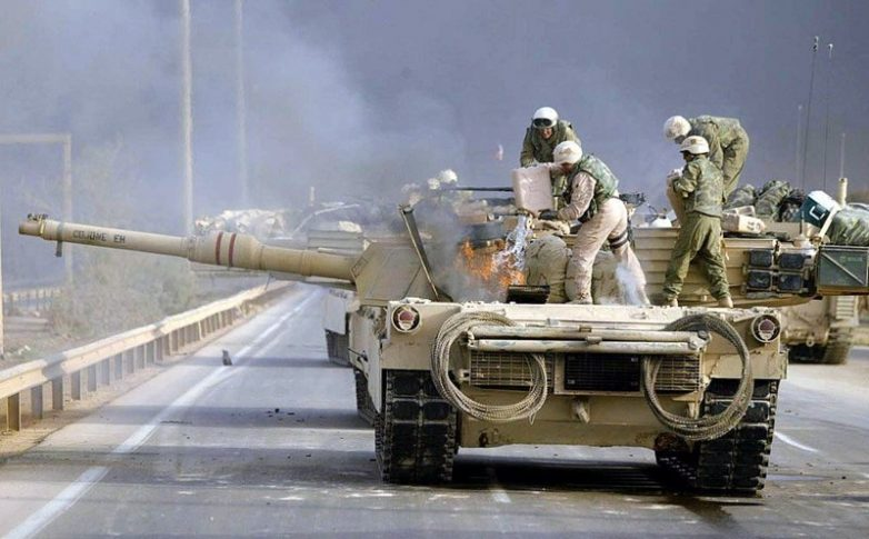 Т-72 vs «Абрамс»