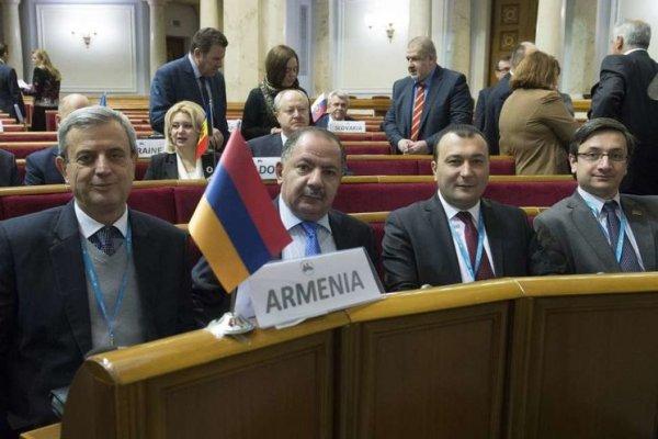 Заседание ПАЧЭС в Киеве закончилось скандалом с армянской делегацией