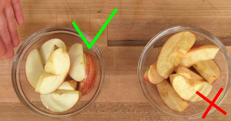 Кулинарный трюк: как предотвратить потемнение фруктов. И даже лимон не понадобится