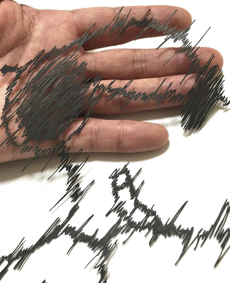 Японский мастер вырезает из бумаги невероятно утонченные узоры Мандалы, бумага, зентангл, художник