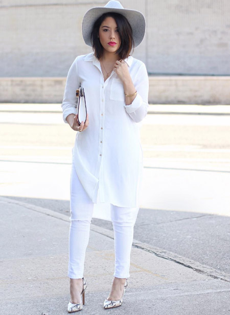 фото девушек в белых облегающих джинсах