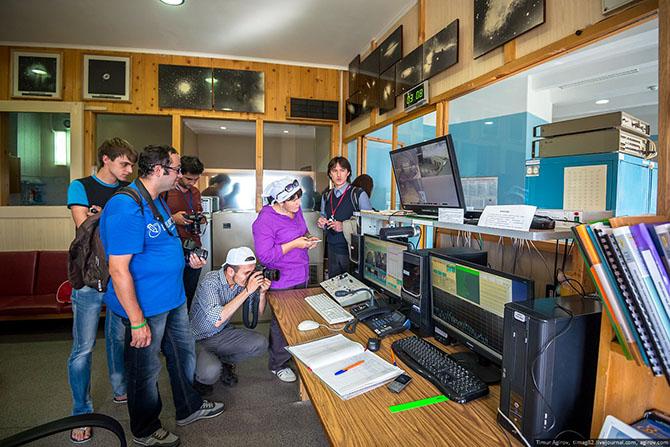 Экскурсия на самый большой телескоп в Евразии