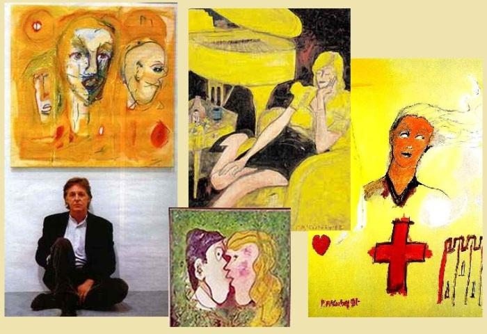 Живопись - новая грань таланта Пола Маккартни