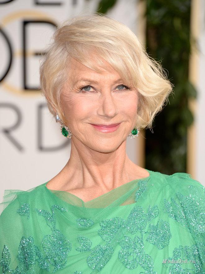 Модные стрижки и укладки для женщин старше 50 лет (с фотоподборкой)