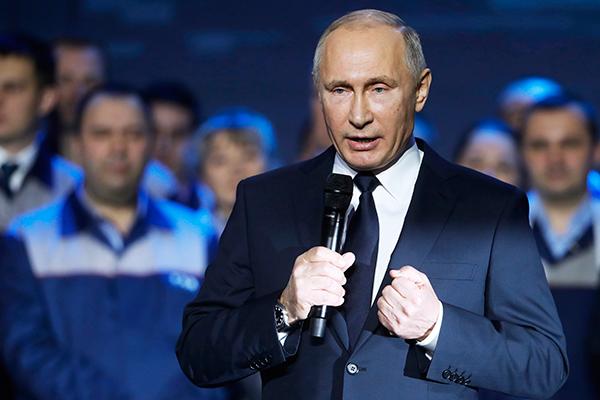 Путин: сила русского народа неисчерпаема!