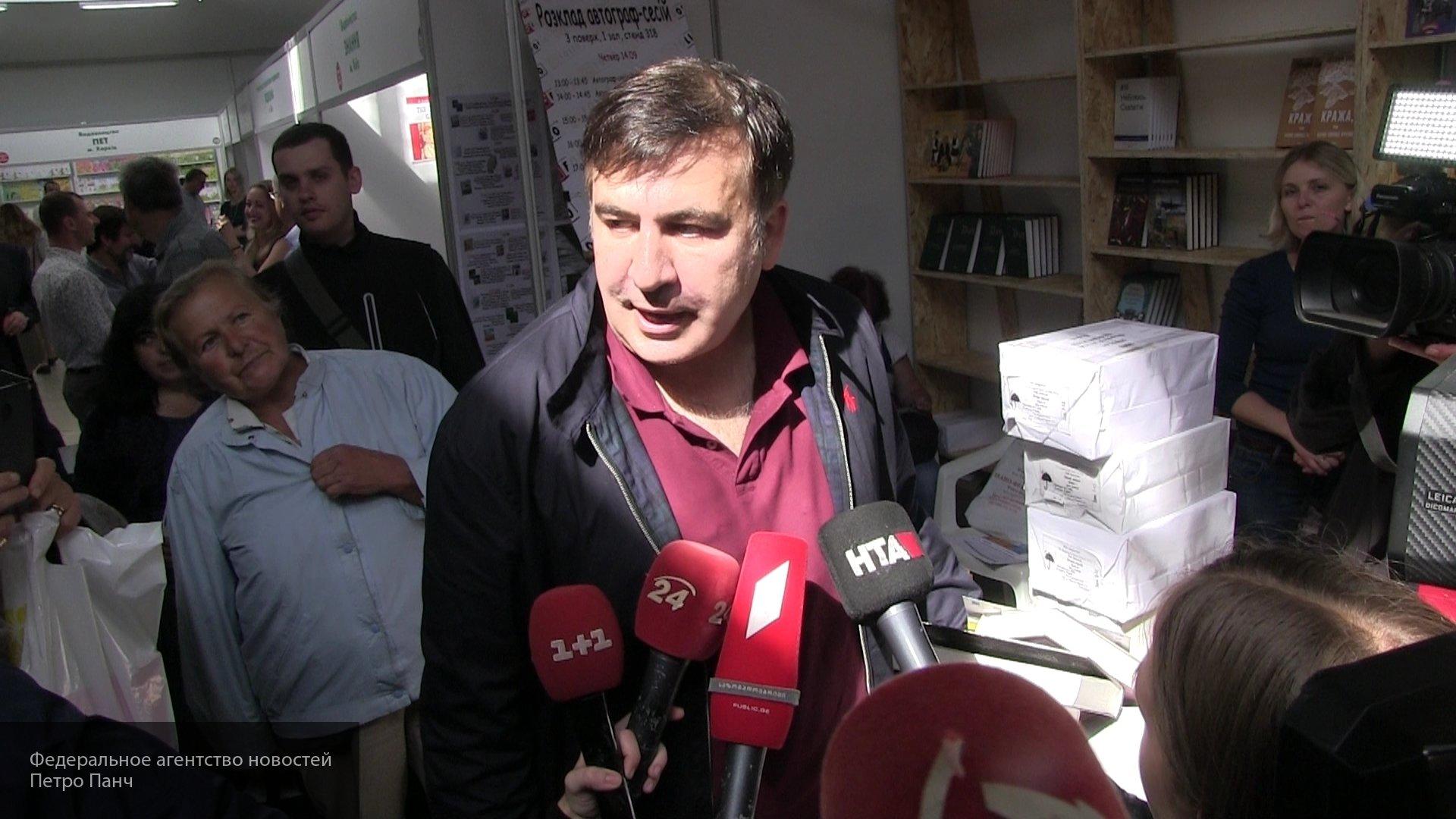 Погранслужба Украины получила ответ от Саакашвили на отказ во въезде в страну