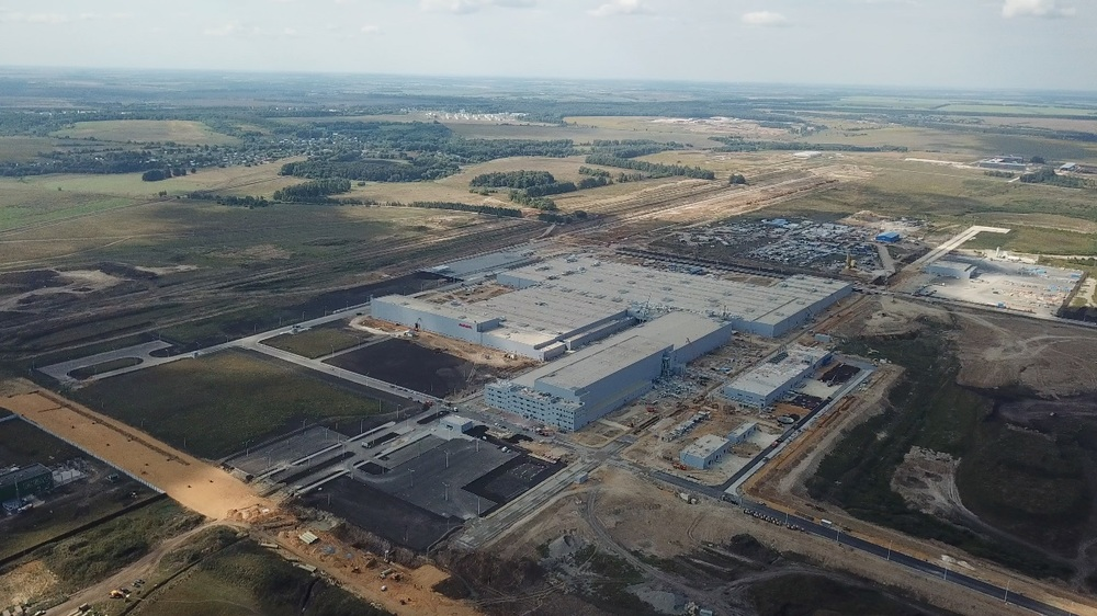 В России построили еще один автомобильный завод
