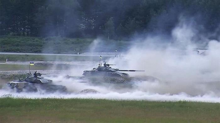 Украина опозорилась на танко…